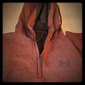 Men's Maroon Under Armour XL Sweatshirt